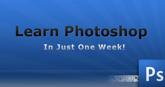 Ako zvládnuť Photoshop za jeden týždeň