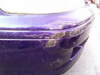 Honda Accord - oškretý nárazník 1