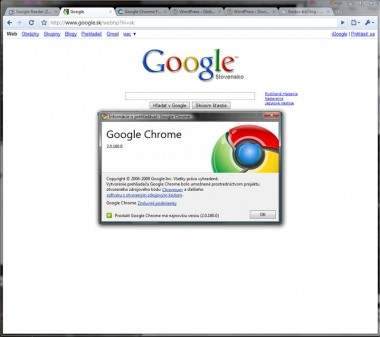 Google Chrome Beta a pluginy (extensions)?