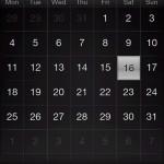 htc hd2 kalendar