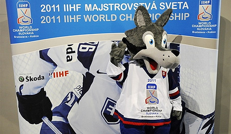 Maskot MS v Hokeji 2011 - Goooly