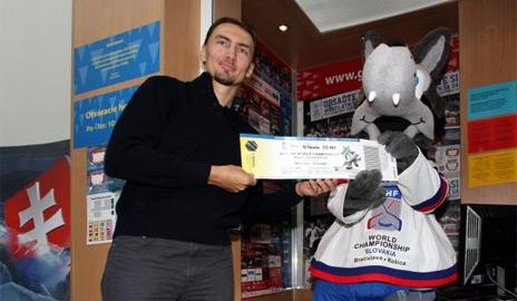 lístky na MS v Hokeji 2011