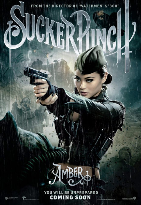 Sucker Punch poster - Amber