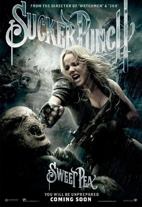 Sucker Punch poster - Sweet Pea