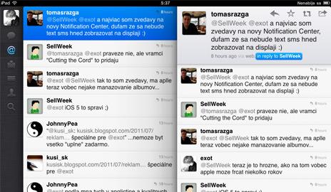 iPad 2 a dokonalý Twitter