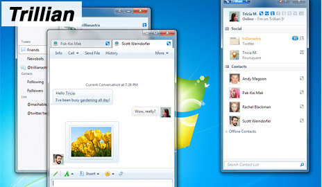 Facebook chat - Trillian