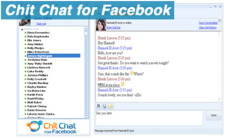 Facebook chat - Chit chat for Facebook
