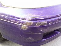 Honda Accord - oškretý nárazník 2