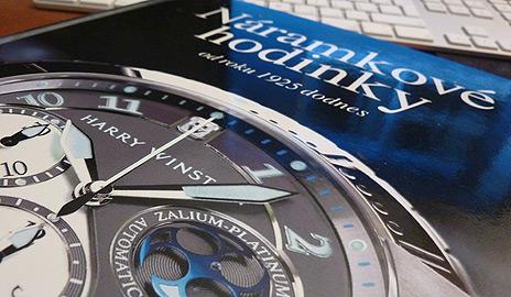 Náramkové hodinky: od roku 1925 dodnes – Tip na knihu