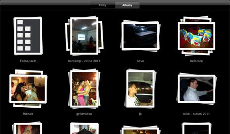 iPad 2 a fotogaléria