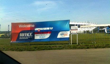 WTCC na Slovakia Ringu + aprílové opekanie ľudskej kože