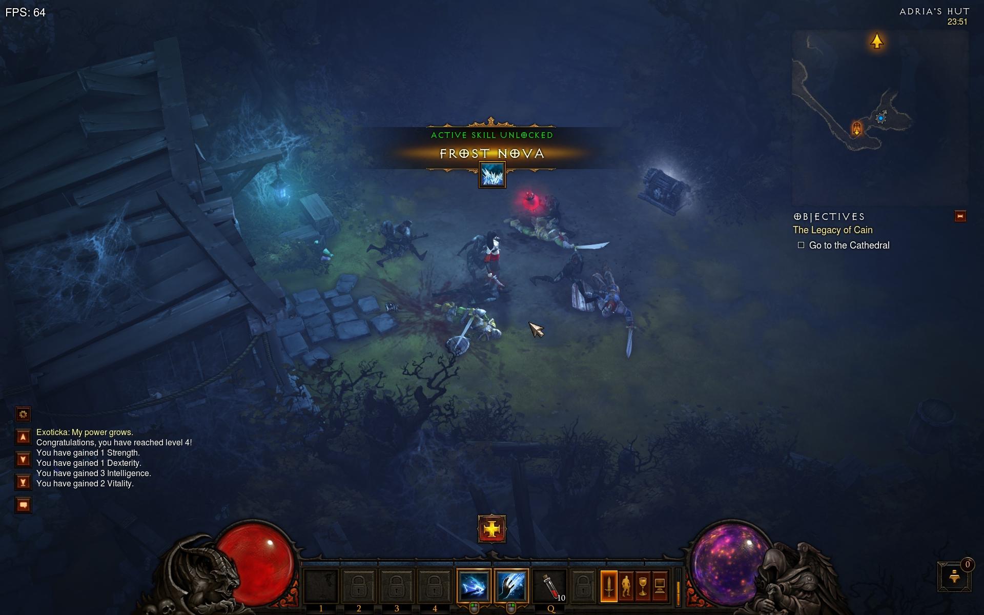 Diablo 3 – moje zápisky, poznámky a postrehy z hry