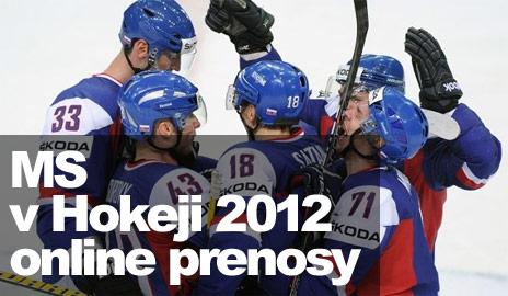 Ako pozerať MS v hokeji 2012 online?