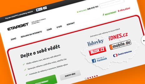 Český Etarget rozširuje základňu partnerských webov