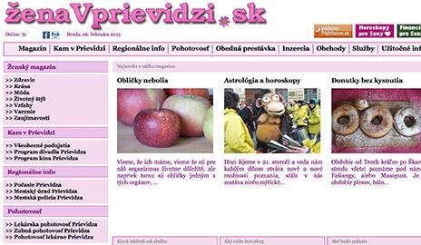 Zaujímavé regionálne weby