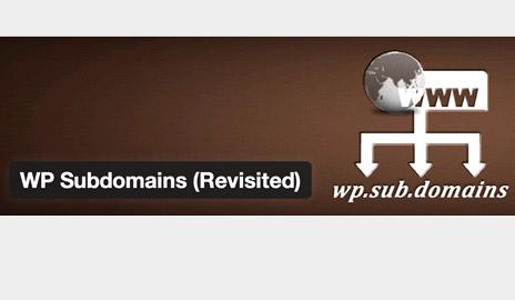 Ako si spraviť z kategórií subdomény (WordPress)
