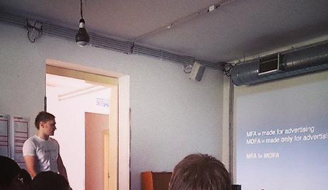 Moja prednáška pre Barcamp – Ako naplniť peňaženku tvorbou kvalitných MFA webov