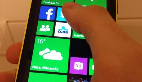 Nokia Lumia 920 - metro